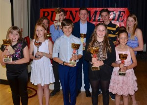Top Girl & Top Boy Winners
